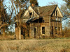 Abandoned house near Gueda Springs, Kansas