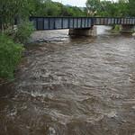 Railroad bridge on Arkansas River Canon City
