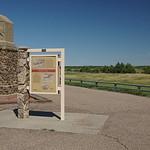 Trails monument west of Cheyenne Wells